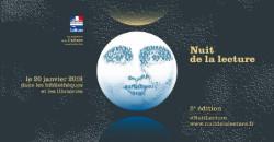 NUIT DE LA LECTURE (LIBRAIRIE MAUPETIT)/POEME BLEU